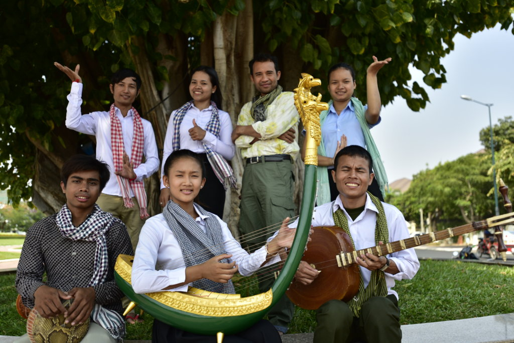 Help Young Cambodian Artists Start Their Career