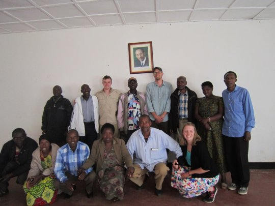 Cyanika community members