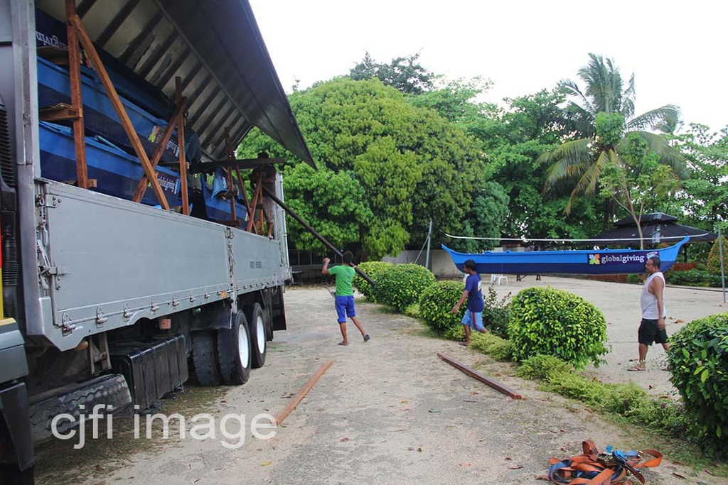 Loading of Brand New Fishing Boats