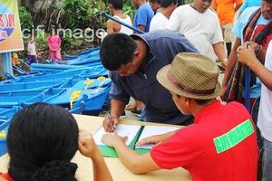 The CJFI volunteers