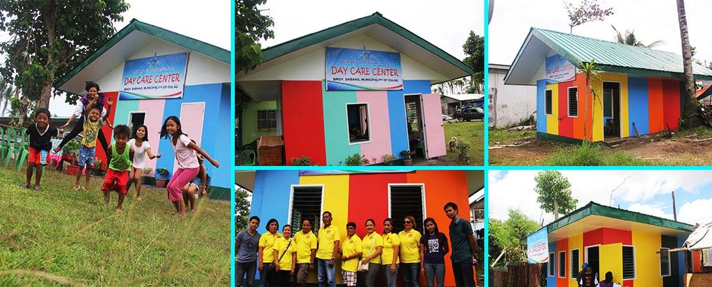 The three (3) newly constructed Day Care Centers