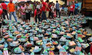 Food for Victims of Super Typoon Haiyan