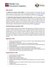 Business plan writing resource from SIDA & MEII (PDF)