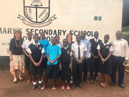 St. Mark's Obambo Umoja secondary scholars