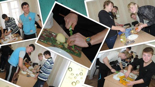 Cooking workshop (Dnipropetrovsk)