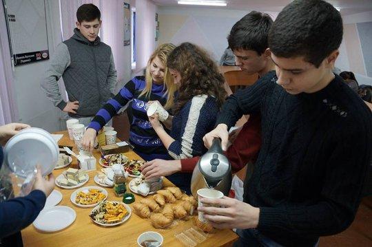 Coffee break in Odessa