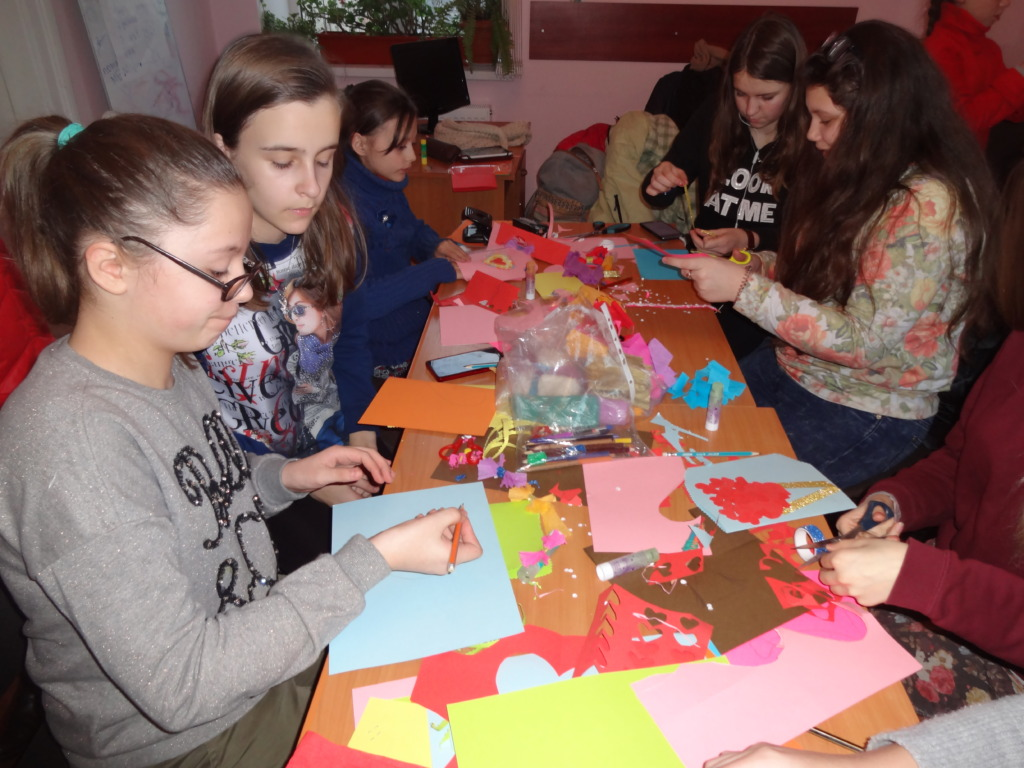 Hand craft workshop in Drohobych
