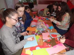 Hand craft workshop in Drohobych