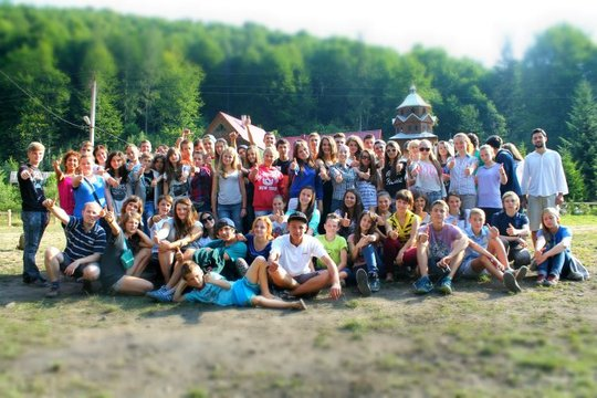 All of the participants became friends in the camp