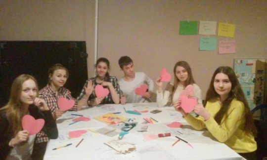 """Training of the """"Activity"""" youth club (Chernihiv)"""