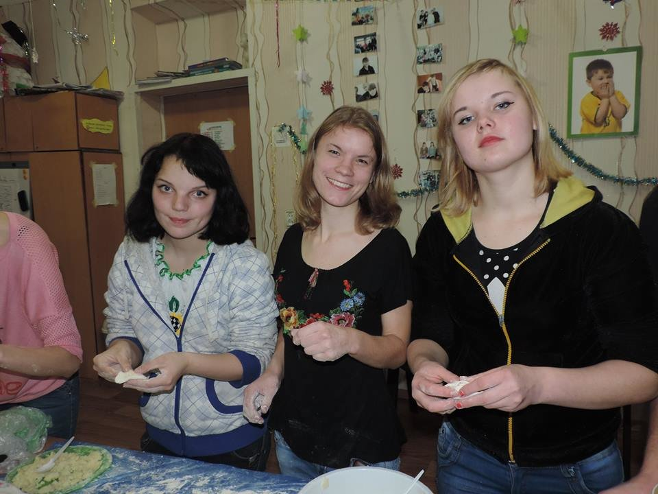 During a cooking workshop