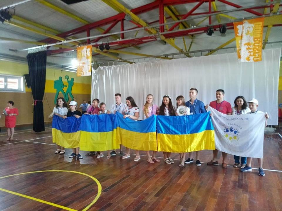 At the summer camp in Moldova