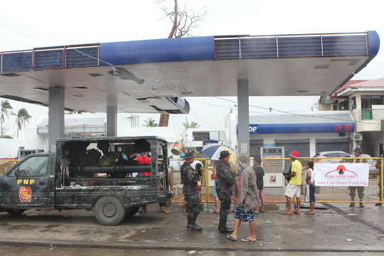 Fuel Relief Fund operating out of a Petron station