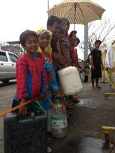 Delivering fuel to families in many cities