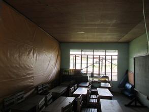 The existing kindergarten classroom
