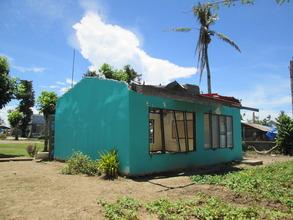 A damaged classroom to be demolished
