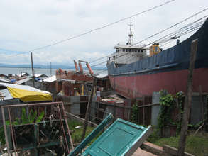 devastation remains in much of Tacloban