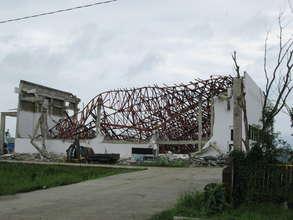 Damage observed during January site visit