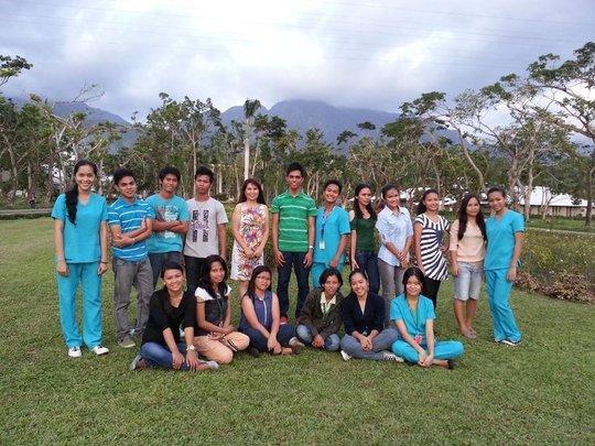 scholars 2014 batch on VSU campus