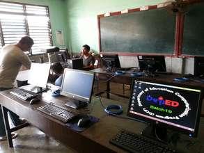 new Asturias ES e-classroom  needs books & chairs
