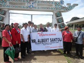 AAI's Al Santoli welcomed by Jolo school teachers