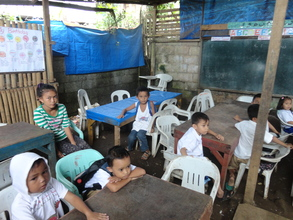 needy outdoor classrooms in Jolo