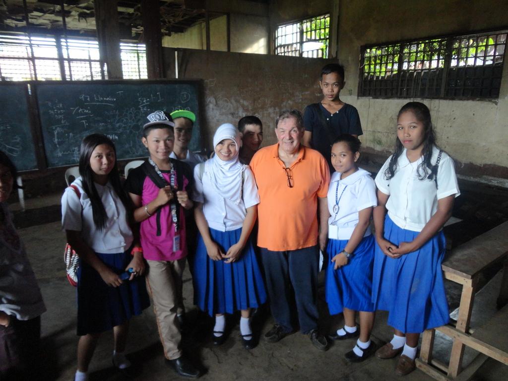AAI Director Santoli at Jolo, Sulu Vocational  HS