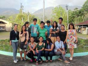 Bright Future Scholars at  Visayas State Univ
