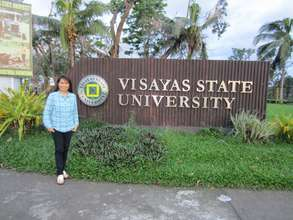 Visayas State University campus after the typhoon
