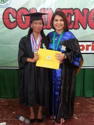 Scholar Sharmaine, BS Environmental Science