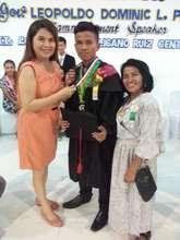 Scholar Bonifacio w Mom, BS Mech Engineering