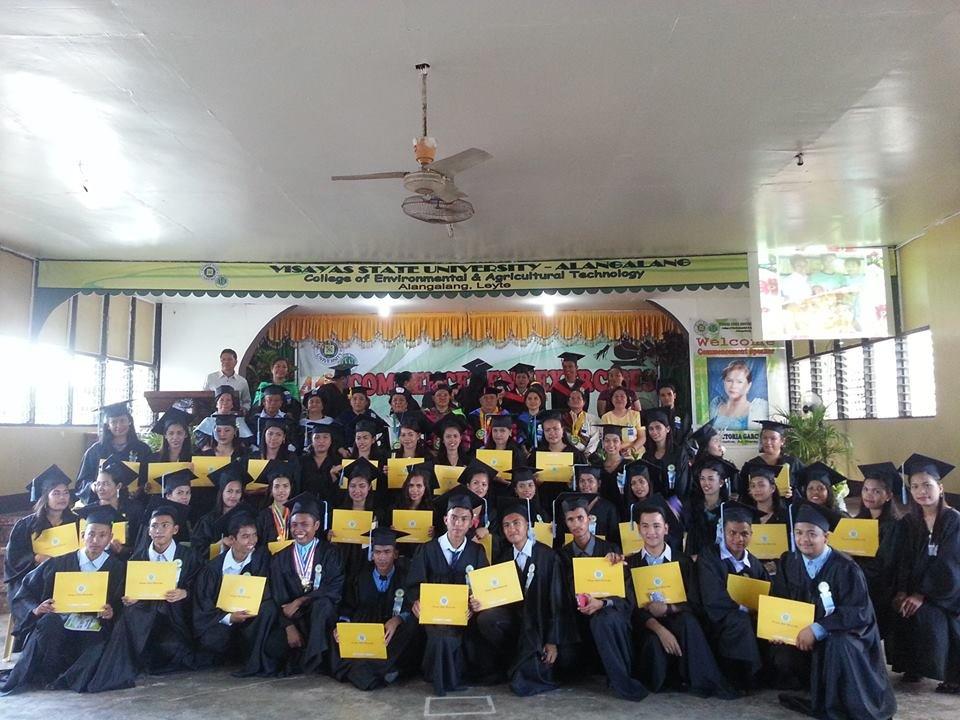 VSU Leyte graduating class 2015