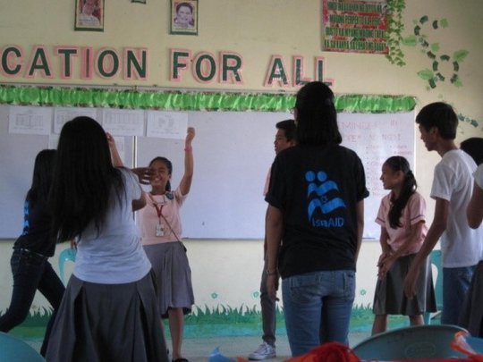 Core Group Intervention: (Linao National High)
