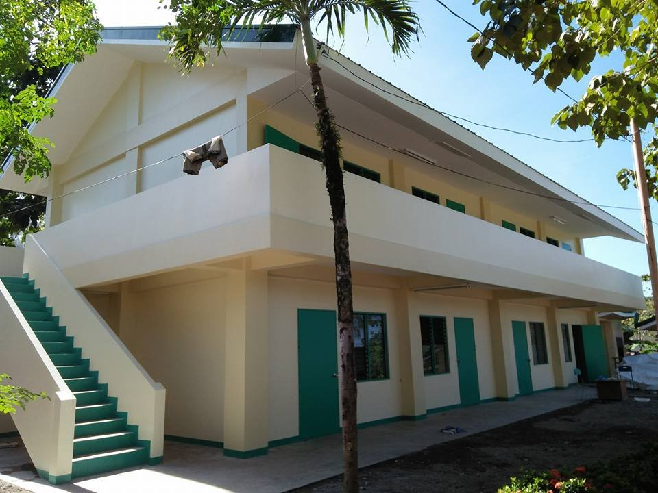 The newly opened Ipil National High School