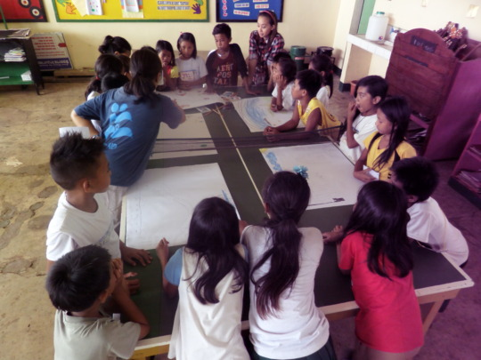 PSS Activity with Children