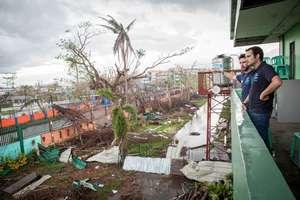 IsraAID team surveys the destruction in Ormoc city