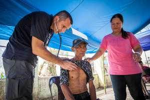 IsraAID Medical team in Ormoc