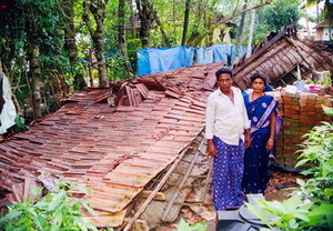KA Stanly family destroyed home...