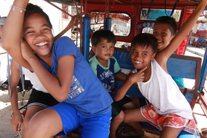Children in Guiuan