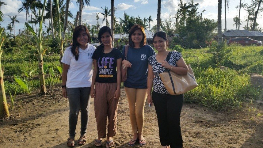 Michaela and friends