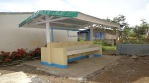 Hand washing station, Ormoc City