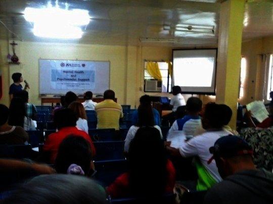 Community awareness event at Cogon District