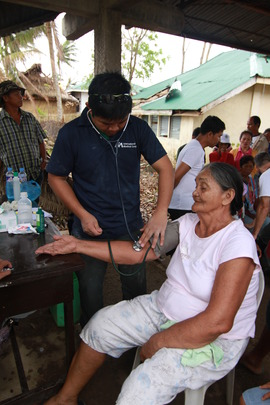 Mobile Medical Unit in Roxas