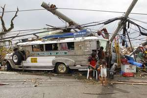 Emergency Relief for Super Typhoon Haiyan Victims