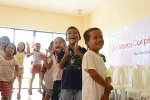 After the disaster: Safe spaces for children