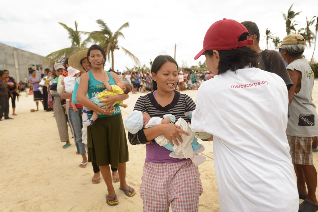 Food relief for mothers and their young children