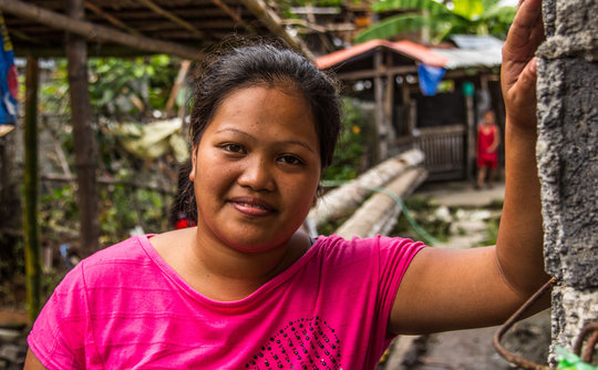 Typhoon Haiyan survivor