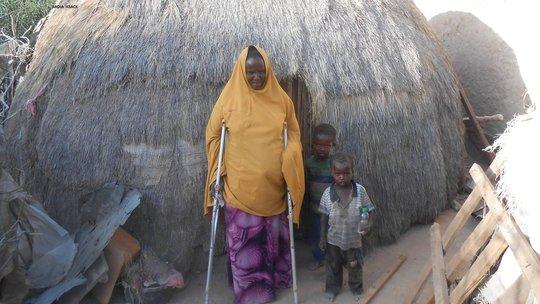 Abdia- Micro-credit beneficiary