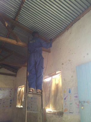 Electrical wiring -8 classrooms