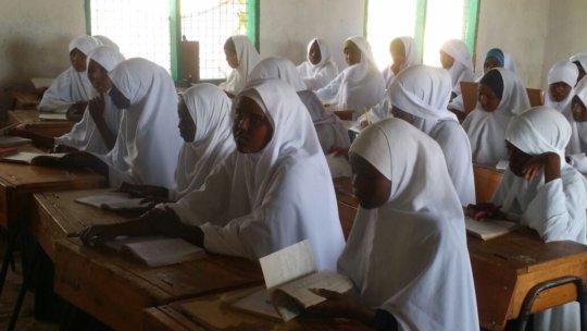 Scholarship recipient  Elwak Girls sec school